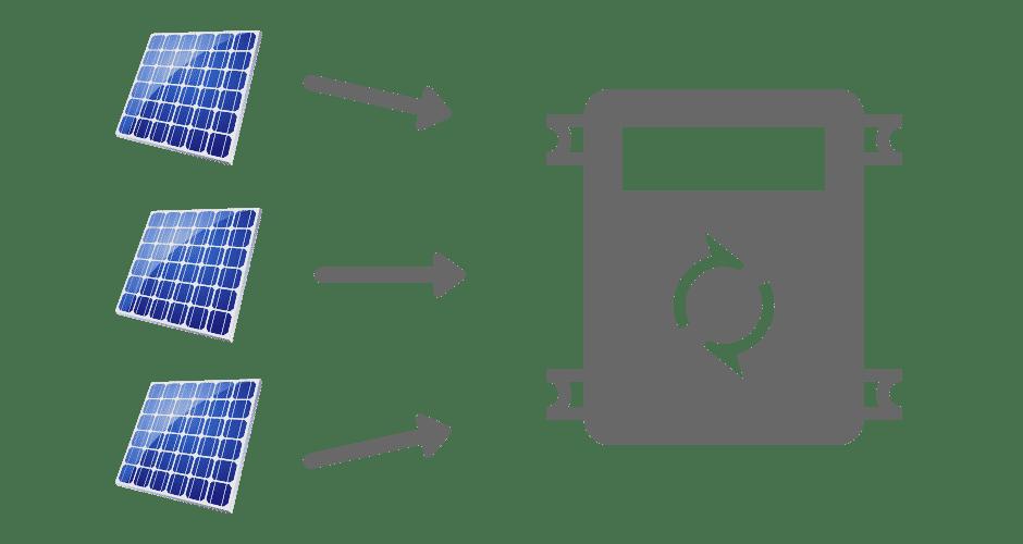 conventional solar inverter