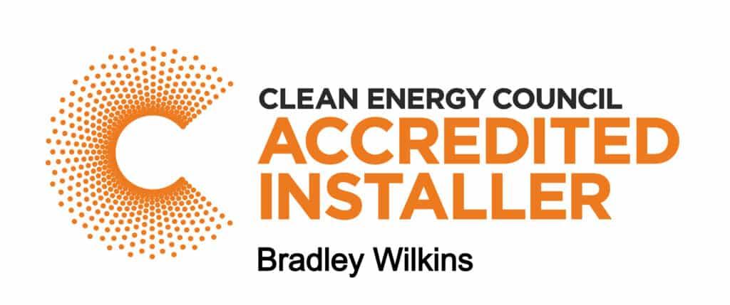 CEC Accredited Installer Bradley Wilkins
